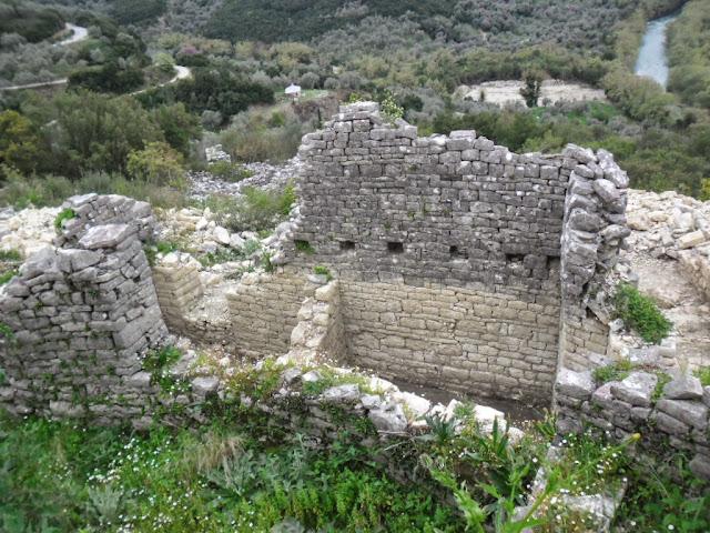 Θεσπρωτία: Καστροπολιτεία Ουζντίνας - Στον χάρτη των επισκέψιμων μνημείων της Ηπείρου