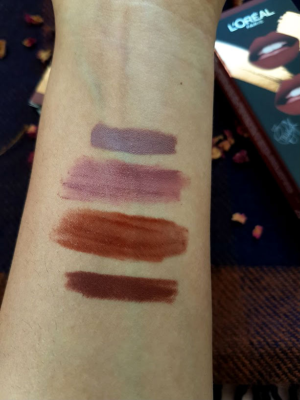 loreal lip kit review