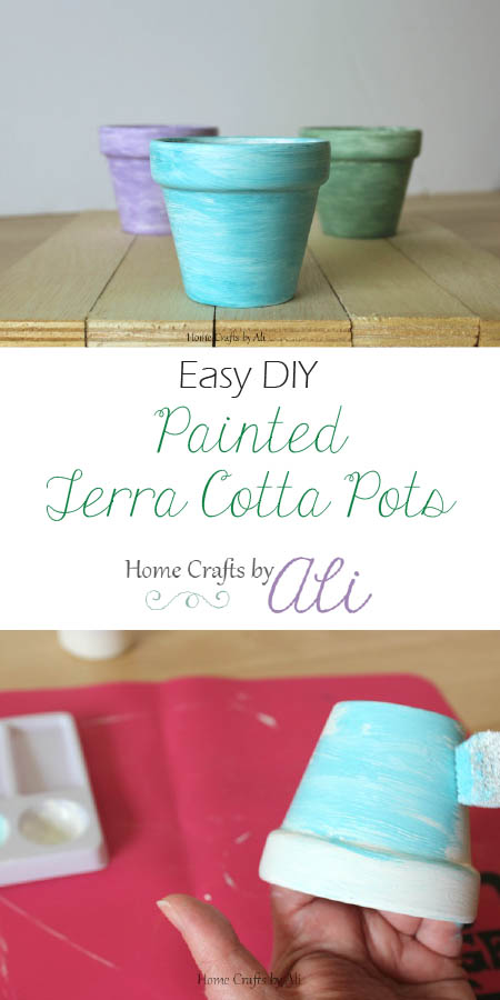 easy diy painted terra cotta pots tutorial