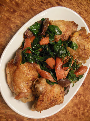Chicken and (or Pork) Vegetables Skillet Meal