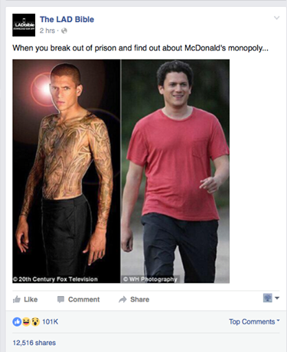 Wentworth Miller responde al meme VIRAL con mensaje anti bullying