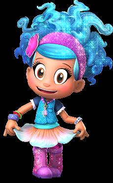 Cartoon Characters Luna Petunia