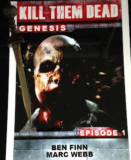 Portada del libro Kill Them Dead: Genesis, de Marc Webb y Ben Finn