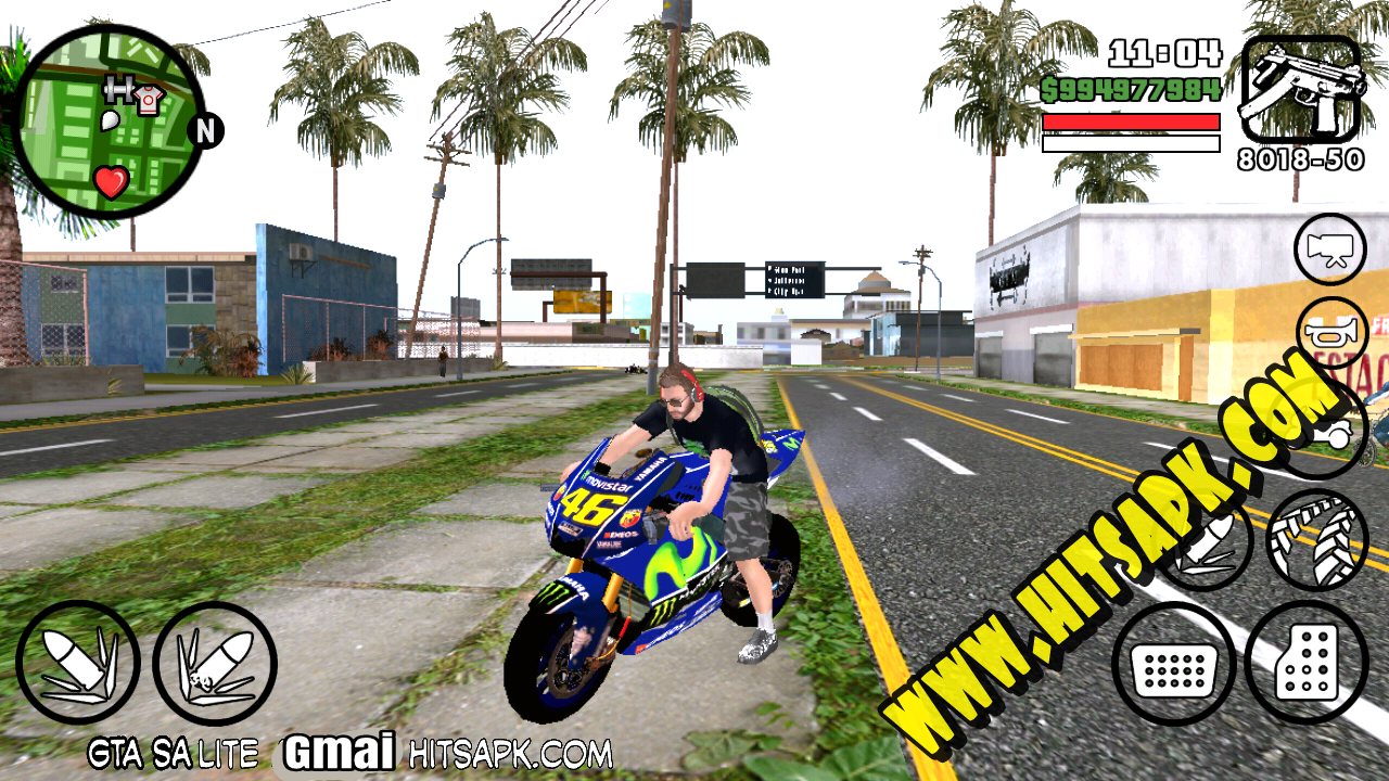Download GTA SA Lite GMAI APK Suport Nougat for android