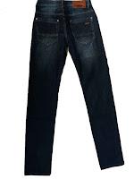 Мужские джинсы фирмы «BUCK JEANS» Модель:8002 вид сзади