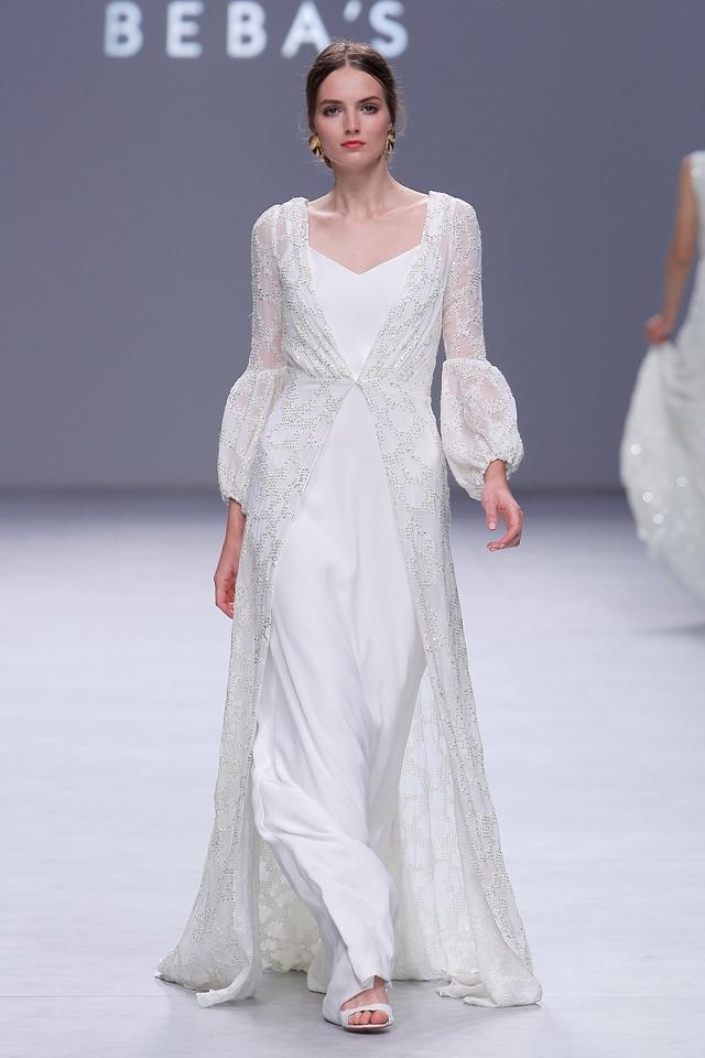 desfile bebas closet barcelona bridal week - blog mi boda
