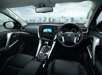 interior All New Pajero Sport