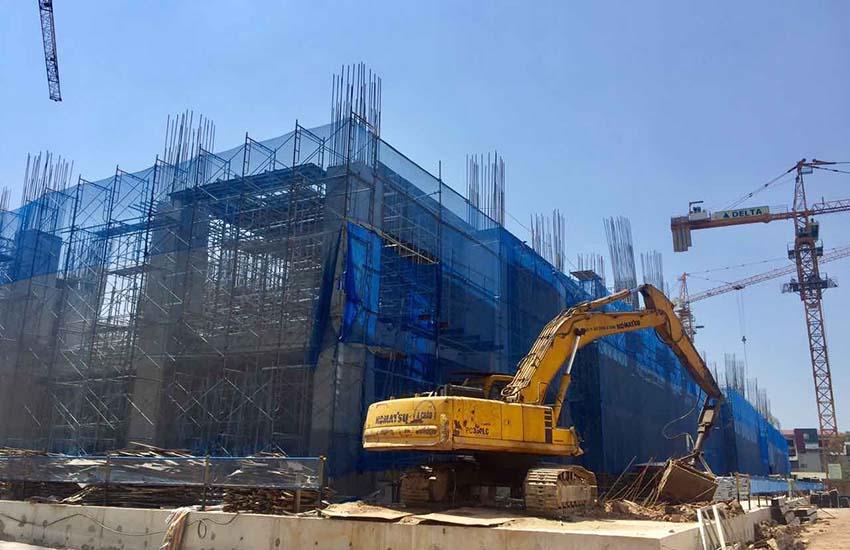 Tiến độ thi công dự án Sun Group Lương Yên ngày 5/6/2017