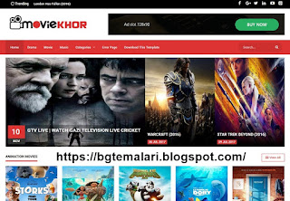 MovieKhor Professional Blogger Template