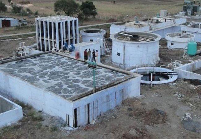 Effluent treatment plant in textile