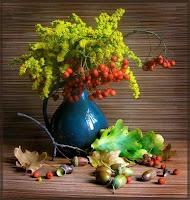 Осенние букеты и некоторые секреты их изготовления и сохранения