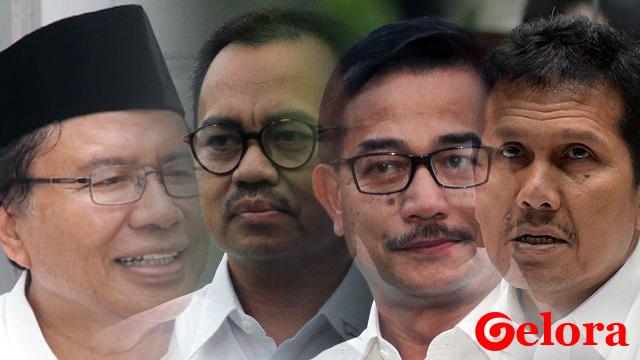 4 Bekas Menteri Jokowi Berbalik Dukung Prabowo-Sandi