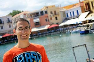 Venetian Port of Rethymnon in Crete