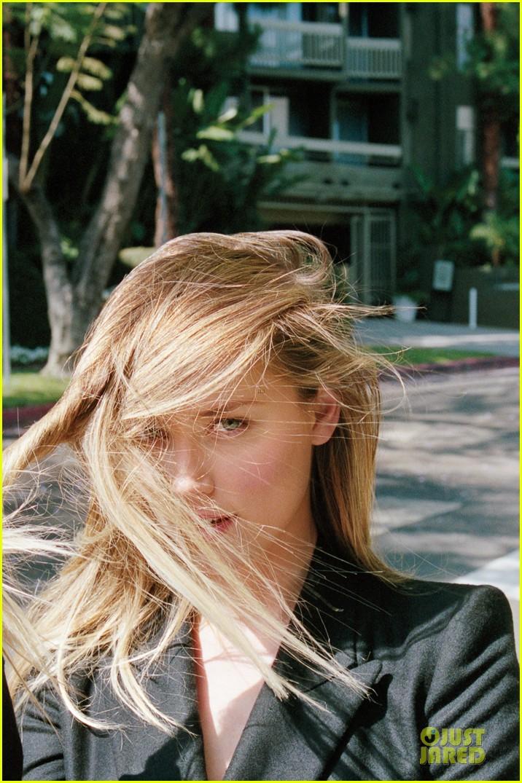 Celeb Diary Amber Heard in revista iD