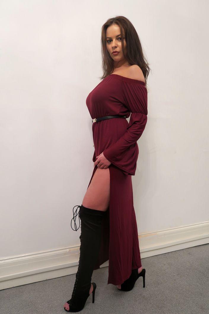 boohoo-maxi-dress @ hayleyeszti