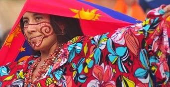 La exposición cultural de los Wayuu