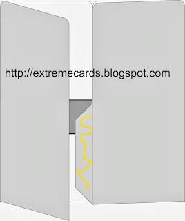card in a box glue sequence
