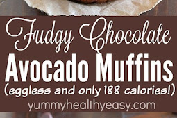 FUDGY CHOCOLATE AVOCADO MUFFINS