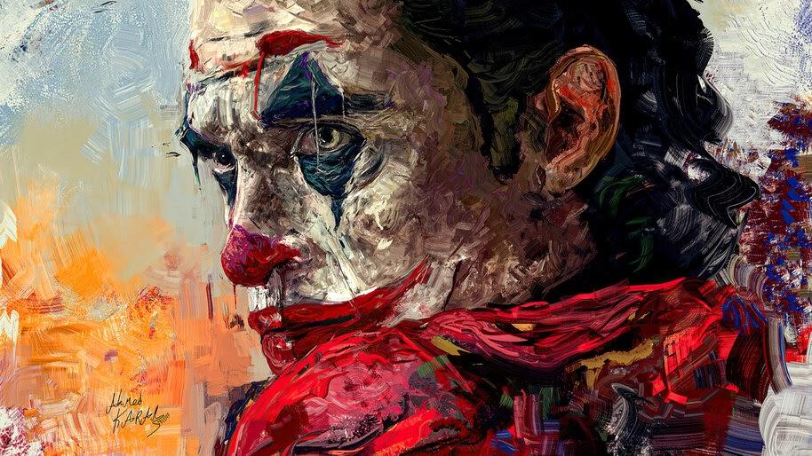 Joker, Art, Joaquin Phoenix, 4K, #3.2279