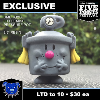 Five Points Fest 2018 Exclusive Little Miss Pressure Pot Gray Edition Resin Figure by UME Toys x Tenacious Toys