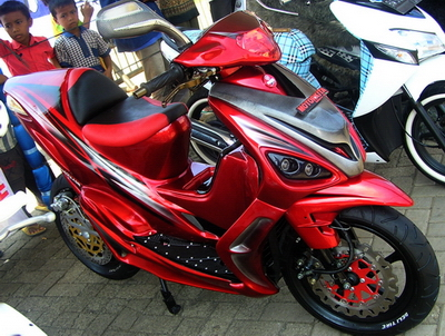 Top modifikasi motor mio sporty 2011