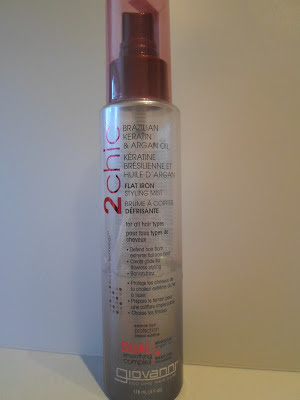 Giovanni 2 Chic Ultra-Sleek Flat Iron Styling Mist
