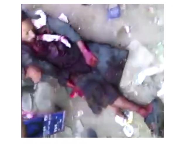 شقيقان مصريّان يذبحان شاباً في وضح النّهار بسوقٍ لبيع المواشي! *ملاحظة: الفيديو للكبار فقط!