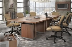 Conference Table with Power Modules