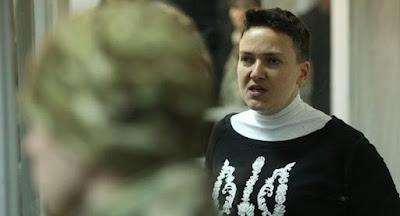 Савченко заарештовано на 60 діб