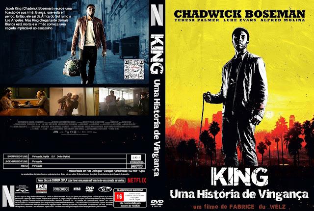 Capa DVD King: Uma História de Vingança [Custom]