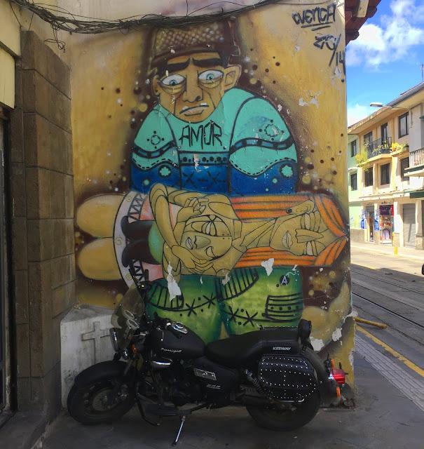 Amor streetart in Cuenca