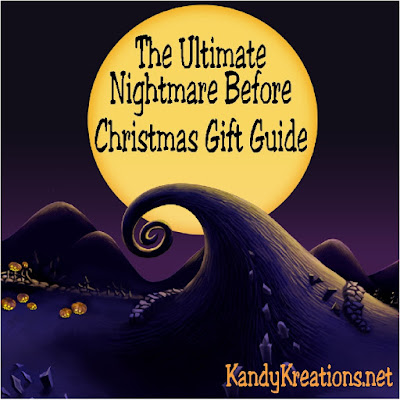 Find the perfect gift for The Nightmare Before Christmas movie fan with this ultimately awesome gift guide.  You'll find everything on Sally and Jack's wish list and so much more.