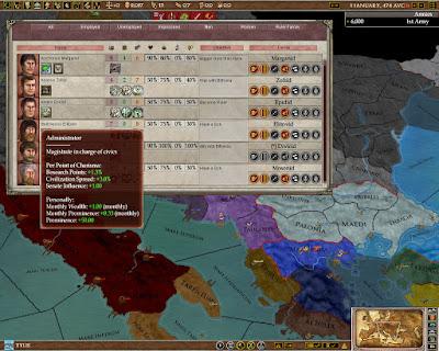 Europa Universalis: Rome Game Screenshots 2008
