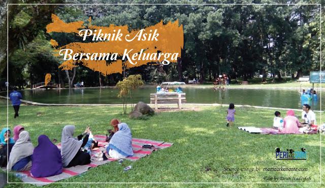 Piknik Asik Bersama Keluarga di kebun raya purwodadi