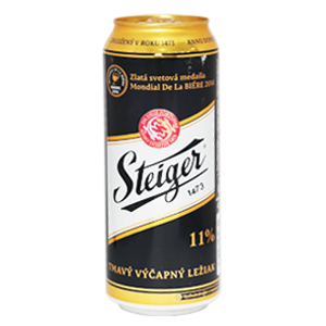 Đặt mua bia Đen Steiger Tiệp ở đây