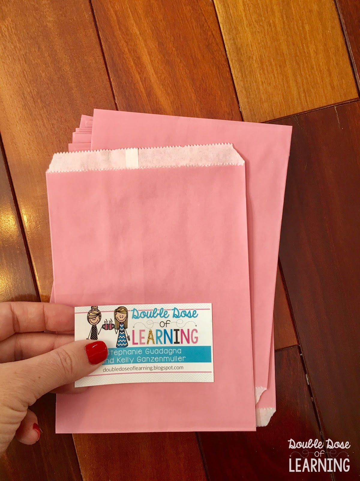 Double Dose of Learning: Sweeten up your Business Cards