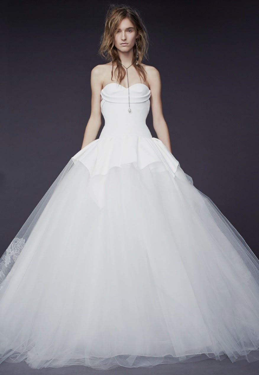Vera Wang Bridal Gown Fall 2015