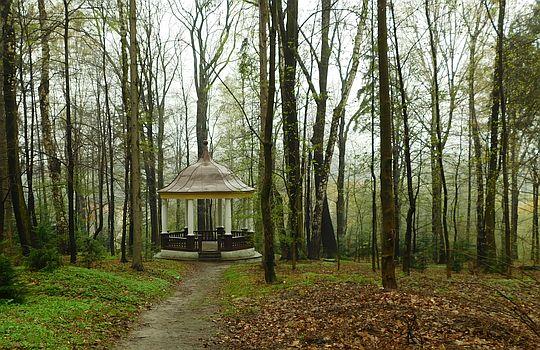 Park Miejski w Wadowicach.