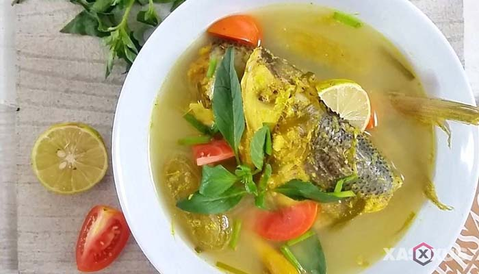Resep cara membuat sayur asem ikan patin Kalimantan