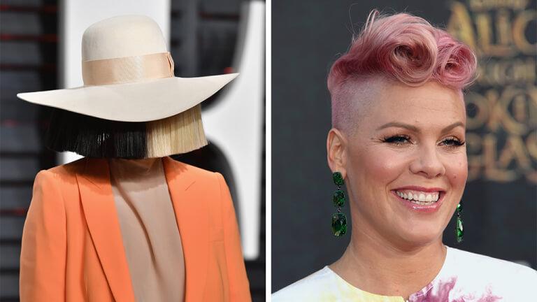 Escucha los adelantos de 'Waterfall', nuevo tema de Pink y Sia