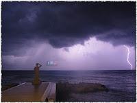 munje kiša Postira slike otok Brač Online