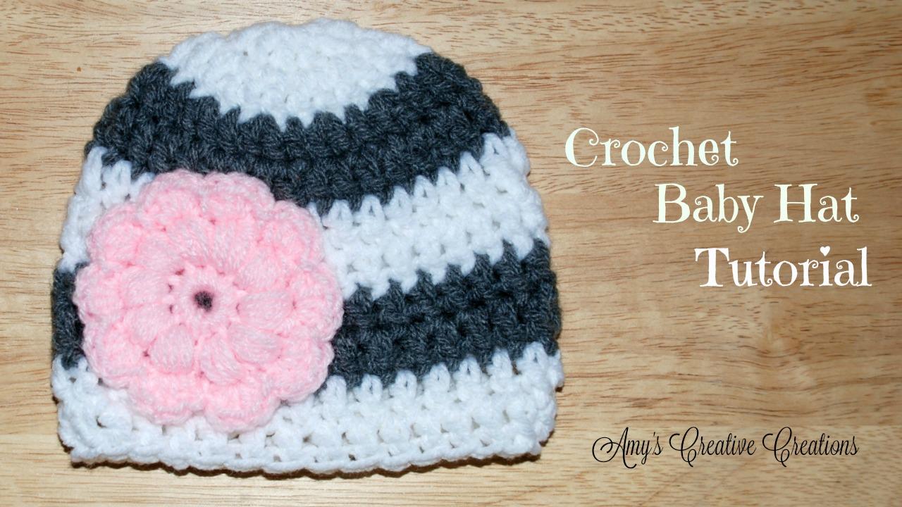 Amy\'s Crochet Creative Creations: Crochet 0-3 Months Puff Stitch ...