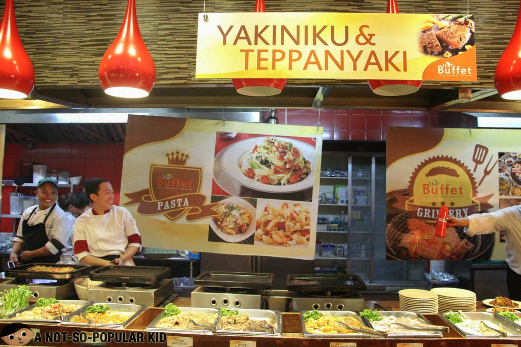 Yakiniku & Teppanyaki Station of The Buffet