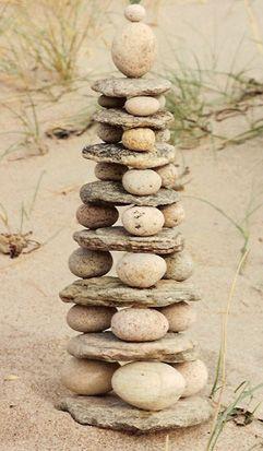 sắp xếp hòn đá ấn tượng