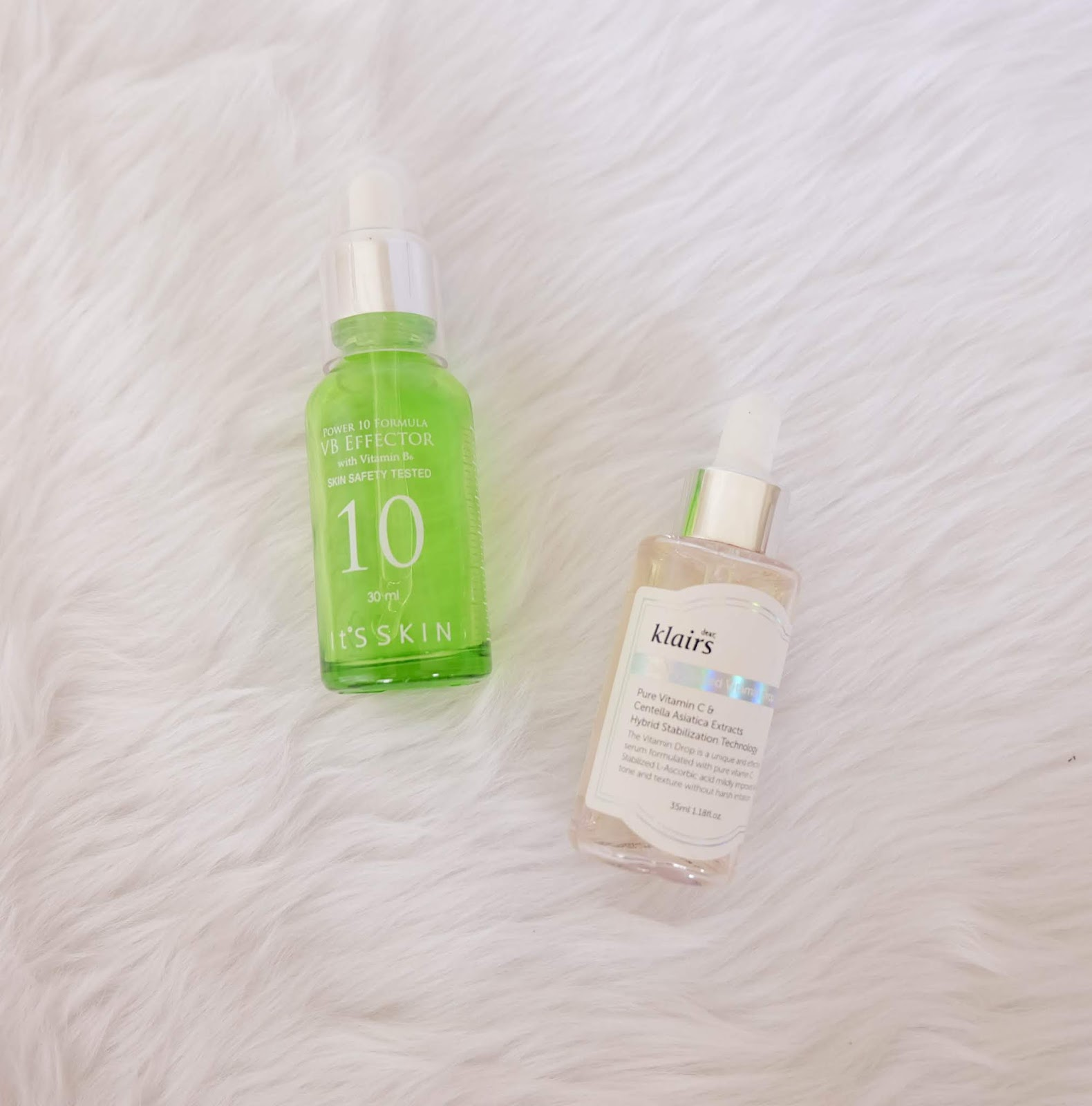 It's Skin Power 10 Formula VB Effector & Dear, Klairs Freshly Juiced Vitamin C