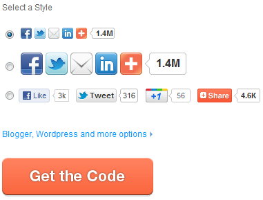 Kode Share Facebook Twitter Google+ di Blog Blogspot