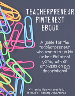 If you're a teacher blogger, you MUST check out this Pinterest ebook to make the most of the platform. You'll have my blog pageviews and increase your sales after implementing these tips.