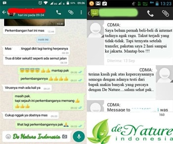 TESTIMONI Obat Herpes Genital Herbal de Nature