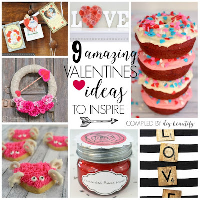 Valentines day ideas and projects | diy beautify