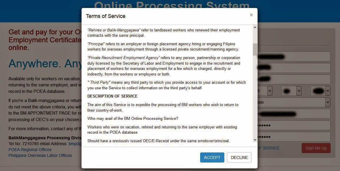 the viewing deck: How to Apply for POEA Balik-Manggagawa OFW eOEC